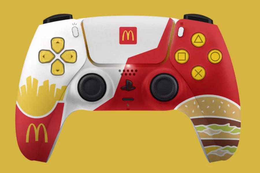 麦当劳联名索尼PS5手柄曝光,为澳大利亚独占
