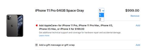 全球iPhone供应短期内受限:苹果美国官网也开始限购