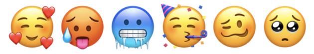 部分新的emoji表情