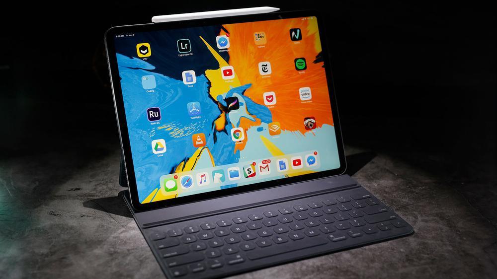 用上这款键盘 iPad Pro一秒变身MacBook