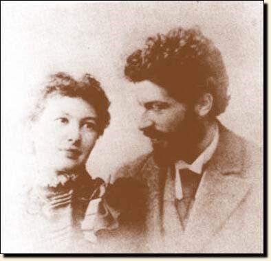 贝索(Michele Besso)与新娘安娜(Anna)