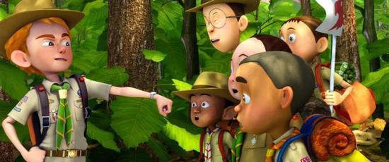 2012年,Kantana集团发行的泰国3D动画电影《Echo Planet》/AWN.com