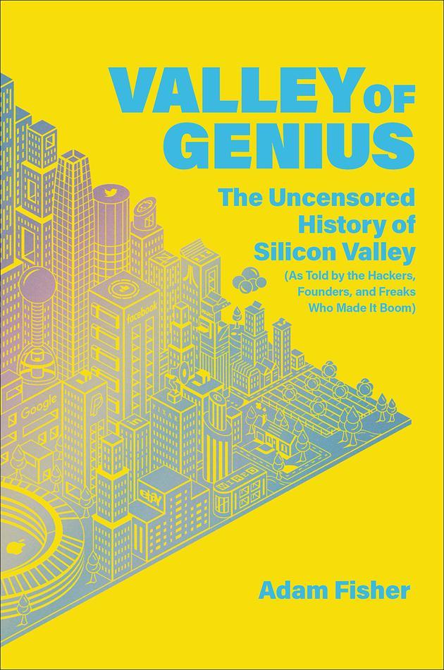 新书《硅谷天才》封面