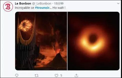人类首张黑洞照片发布,网友脑洞大开