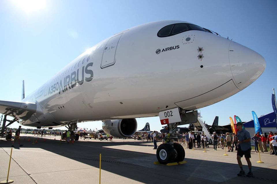 汉莎迎来首架A350XWB宽体飞机 爆表远洋飞行