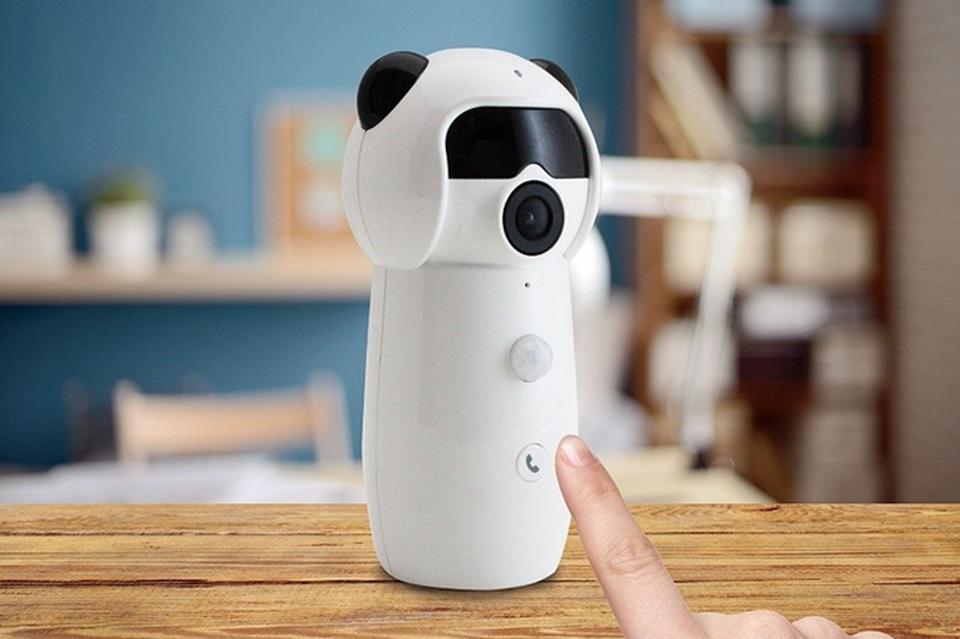 一键通话 这么可爱的熊猫竟然还是个家用摄像机?!