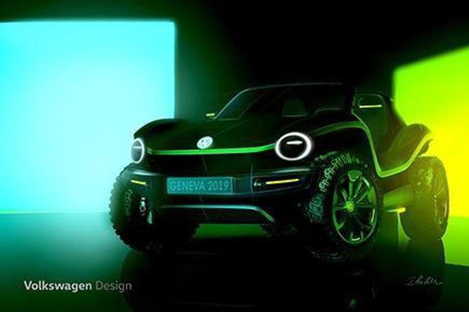 大众概念车将在日内瓦车展 展示新型电动车