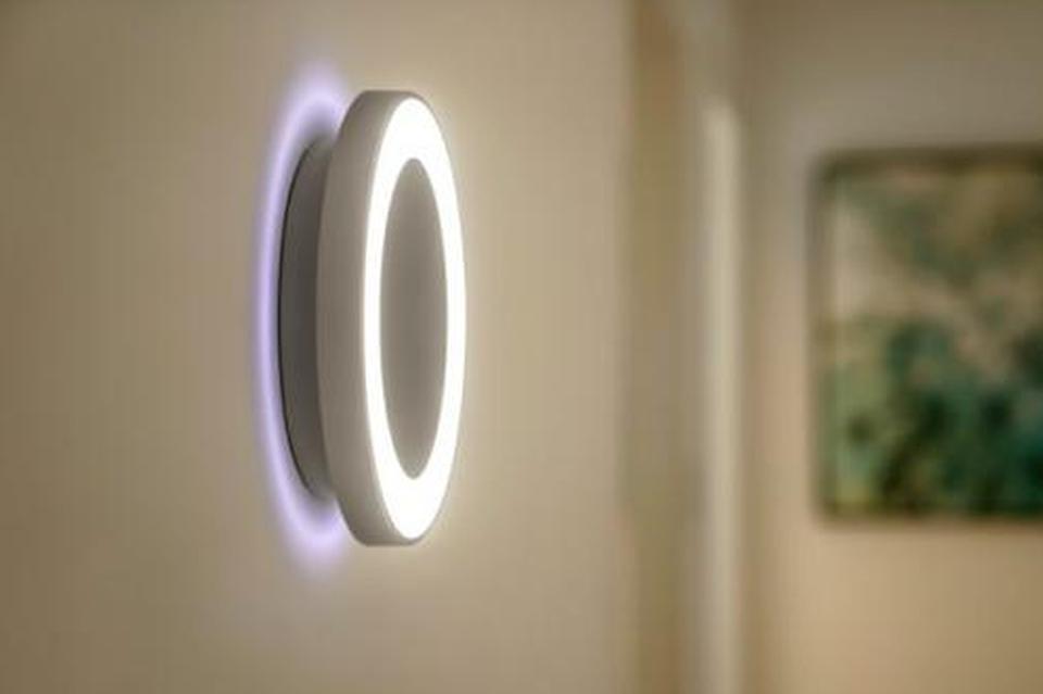 """家里的这个""""光环""""是飞利浦睿夕灯饰带给我们的惊喜"""