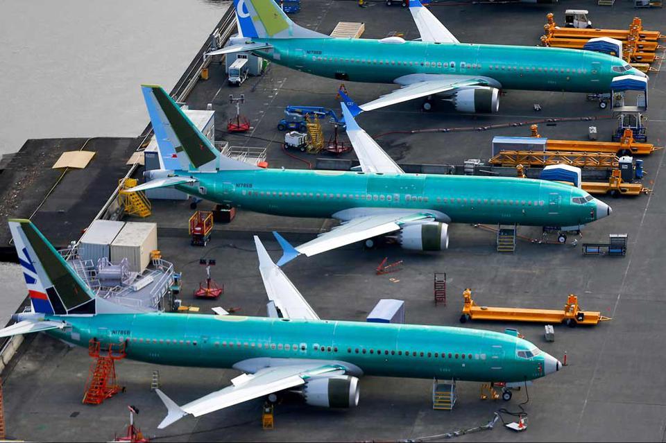 为了737 MAX早日重返蓝天 波音CEO莅临试飞工作