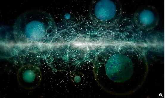 中微子几乎没有质量,它们在宇宙中飞行的速度几乎达到了光速。