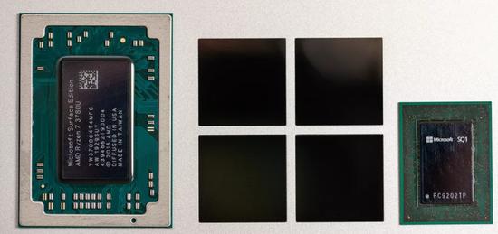 圖:微軟定制芯片