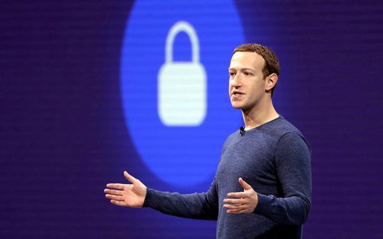 扎克伯格和他的脸书可能被罚50亿美元 @IC photo