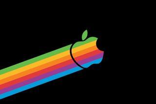苹果彩虹Logo卖到3万美元