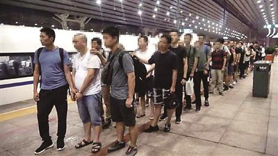 海淀警方赴重庆抓获涉案人员
