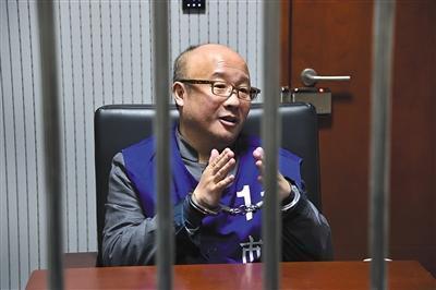 今年1月14日,张小雷自首后首次接受采访。警方供图