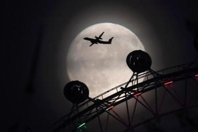 """""""超级月亮""""将在全球各地现身 系今年最大满月(图)"""