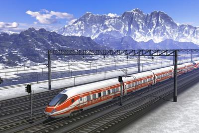 """中国高铁""""高歌猛进"""" 加州高铁为何落后那么远?"""