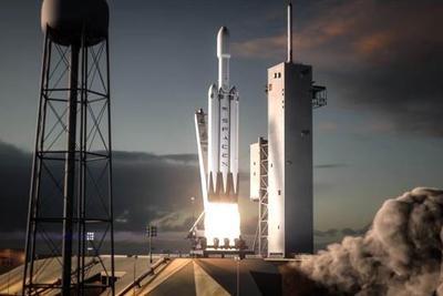 """美国政府停摆 """"猎鹰重型""""火箭点火测试被迫推迟"""