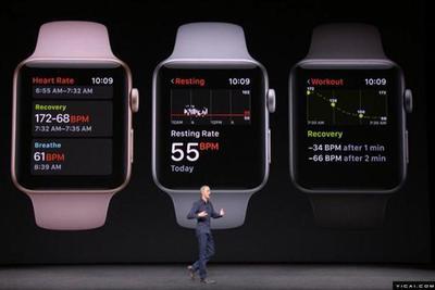 报告:上季度Apple Watch销量超过瑞士钟表总和