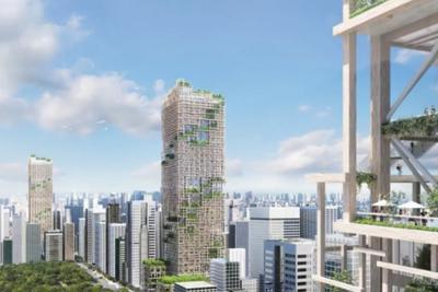 世界上最高木制摩天大楼将于2041年在东京建成