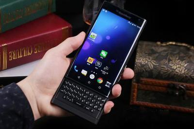 黑莓手机还有新花样?要将滑盖手机进行到底