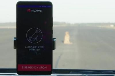 华为手机AI平台+无人驾驶功能强大:可识别前方障碍物