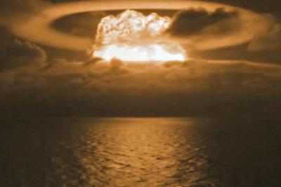 美国首次氢弹实验视频对外公布 宛如世界末日