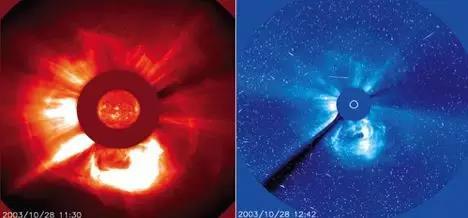 日冕物质及地磁暴