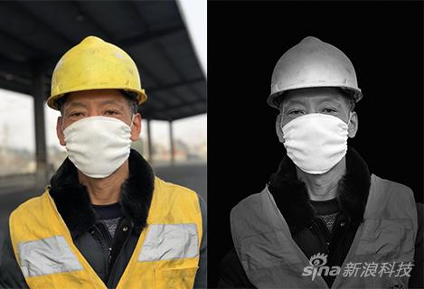 对比人像光效模式拍摄的照片(右)刘丹拍摄
