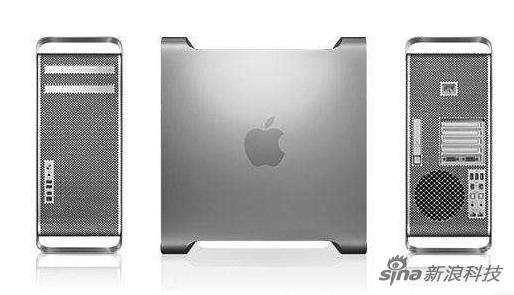 """早年的Mac Pro 俗称""""铁盒子"""""""