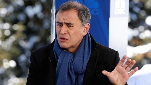 知名经济学家努里埃尔·鲁比尼(Nouriel Roubini)