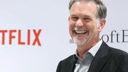 Netflix CEO里德·哈斯廷斯(Reed Hastings)