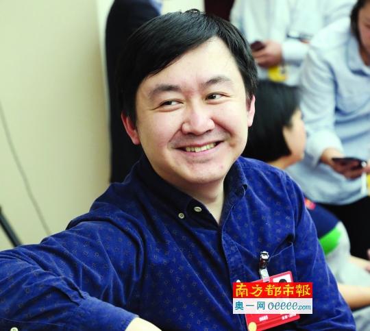 全国政协委员、搜狗公司CEO王小川。