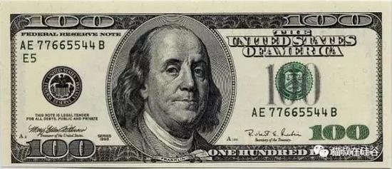 百元大钞上的富兰克林