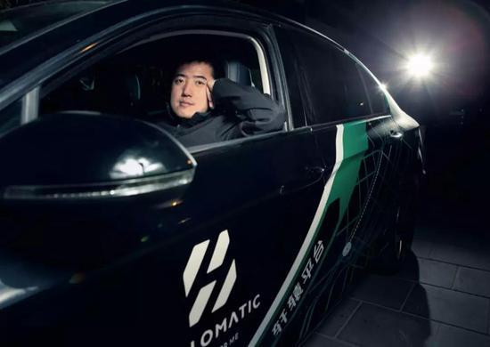 """倪凯经历了百度无人驾驶从0到1和乐视超级汽车的""""蒙眼狂奔"""",2017年终他创办了未多科技 摄影:邓攀"""