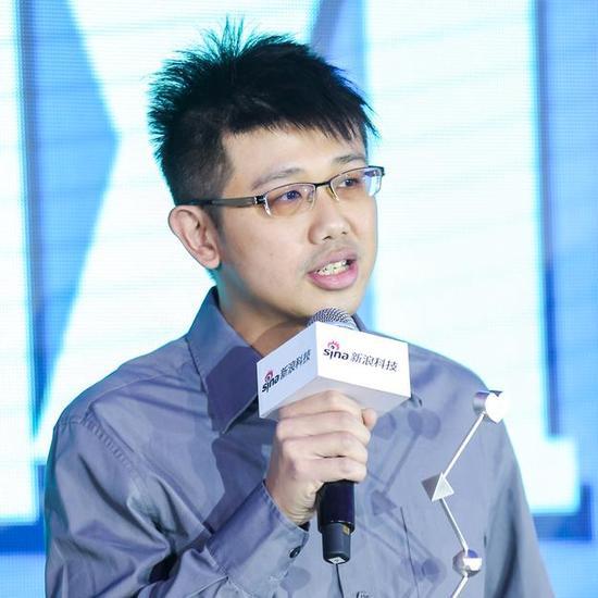 活动行获2017年度科技风云榜年度最佳初创企业奖,图为活动行创始人谢耀辉