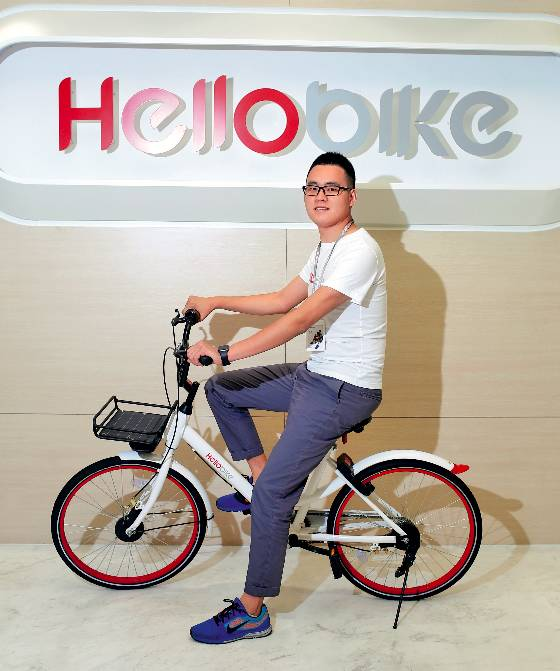 哈罗单车创始人杨磊(摄影/程泉)