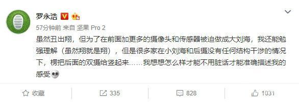 此前罗永浩微博截图