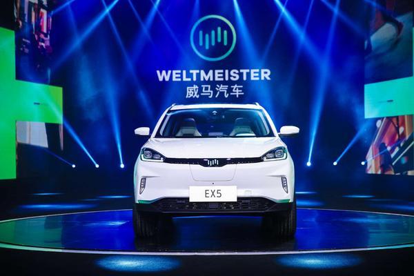 威马首款量产车型EX5图赏:20万国民智能电动车