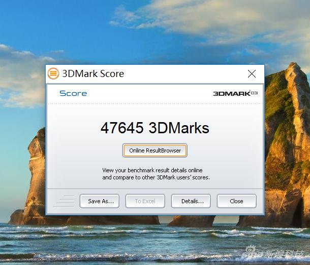 3DMARK03测试