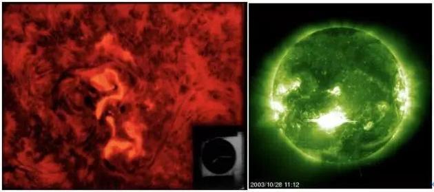 耀斑的Ha观测和极紫外观测