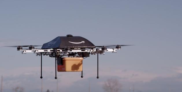 亚马逊获得自毁无人机专利 遇到危险自动拆解
