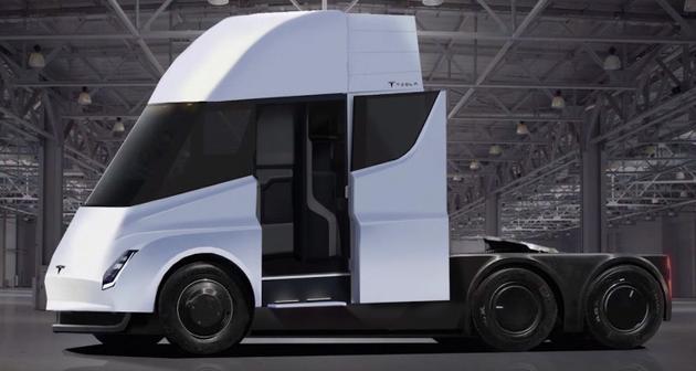 特斯拉此前发布的电动卡车