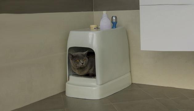 全自动的宠物排便垃圾桶