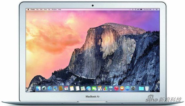 MacBook Air曾是苹果笔记本的代表作 如今已经是边缘产品