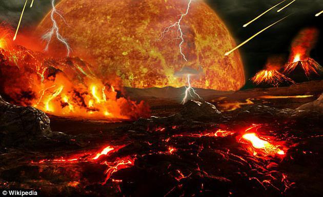 """最新研究表明,在地球形成之初的""""地狱时期"""",地壳不稳定,频繁遭受地外天体碰撞,数百万年时间持续高温,即使在这种最恶劣的情况下,也无法使地球抹杀所有生命形式。"""
