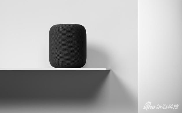 苹果公司推出的智能音箱设备HomePod