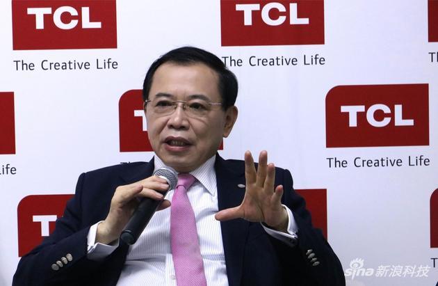 TCL集团董事长、CEO李东生