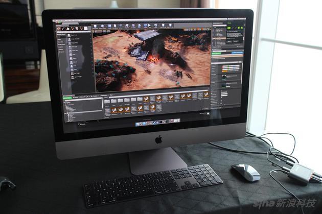 用iMac Pro开发游戏的使用环境