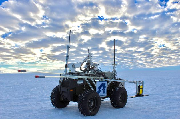 冰结构探测机器人